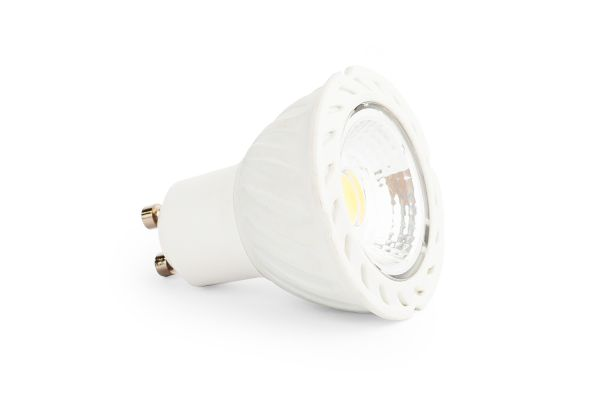 LED ��rovka GU10 6W COB 570lm studen�, ekvivalent 53W