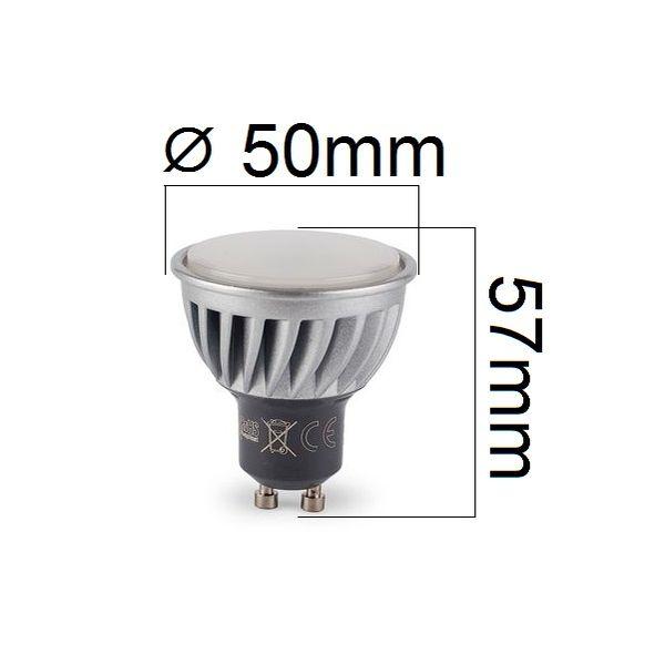 Akce: Stmívatelná LED žárovka GU10 10W 860lm teplá 3+1