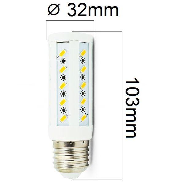 Akce: LED žárovka E27 8W 720lm teplá 3+1