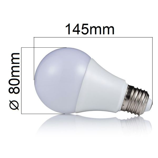 LED žárovka E27 18W 1620lm studená, ekvivalent 110W