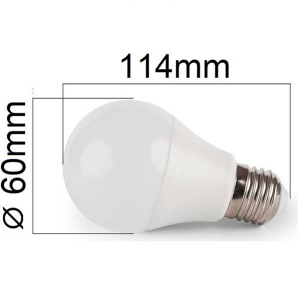 Akce: LED  žárovka E27 10W 900lm studená  3+1