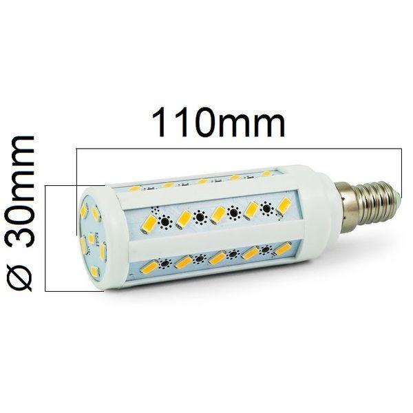 Akce: LED žárovka E14 8W 720lm studená 3+1