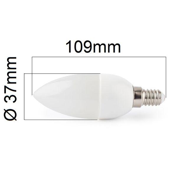 Akce: LED žárovka E14 400lm teplá 3+1