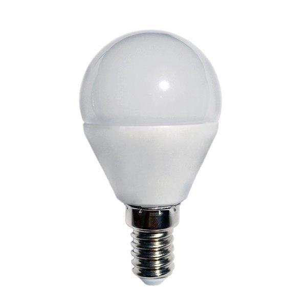 Akce: LED žárovka  E14 8,5W 800lm G45, denní 3+1