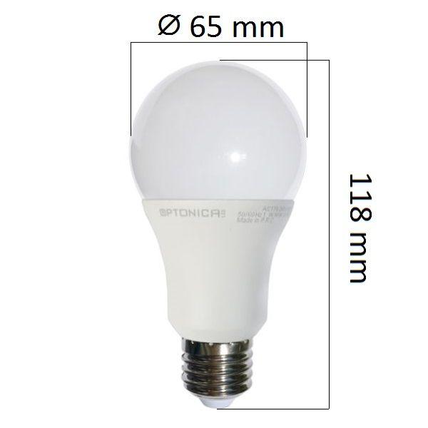 Akce: LED  žárovka E27 15W 1200lm denní 3+1
