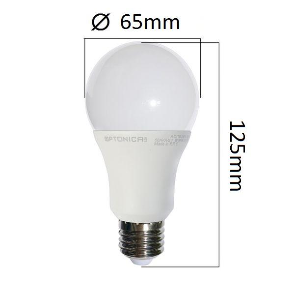 Akce: LED  žárovka E27 18W 1440lm teplá 3+1