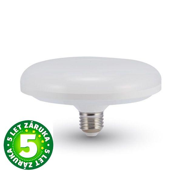 Prémiová LED žárovka E27 UFO SAMSUNG čipy 16W 1200lm teplá