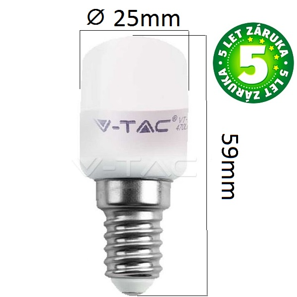 Prémiová LED žárovka E14 SAMSUNG čipy 2W 180lm denní