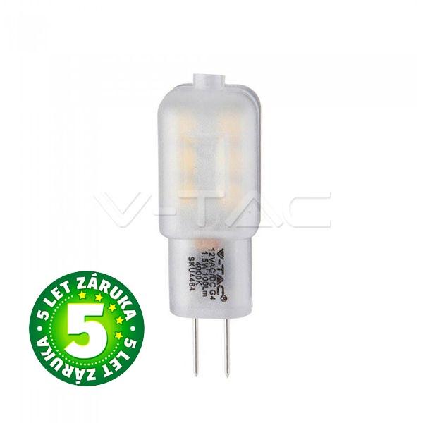 Prémiová LED žárovka G4 SAMSUNG čipy 1,5W 100lm 12V denní