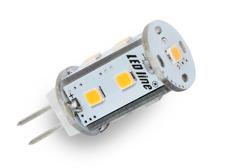 LED žárovka G4 1,8W 150lm 12V teplá, ekvivalent 15W