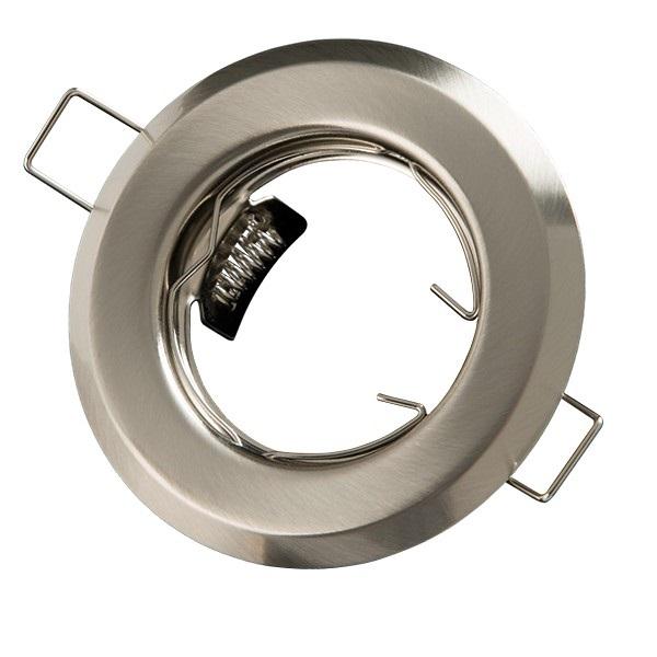 Podhledové bodové svítidlo chrom matný + PATICE MR16 ZDARMA