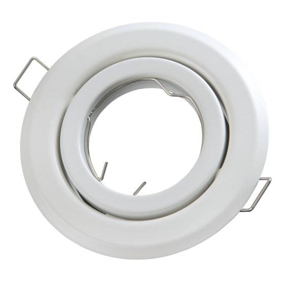Podhledové bodové svítidlo výklopné  bílé + PATICE MR16 ZDARMA