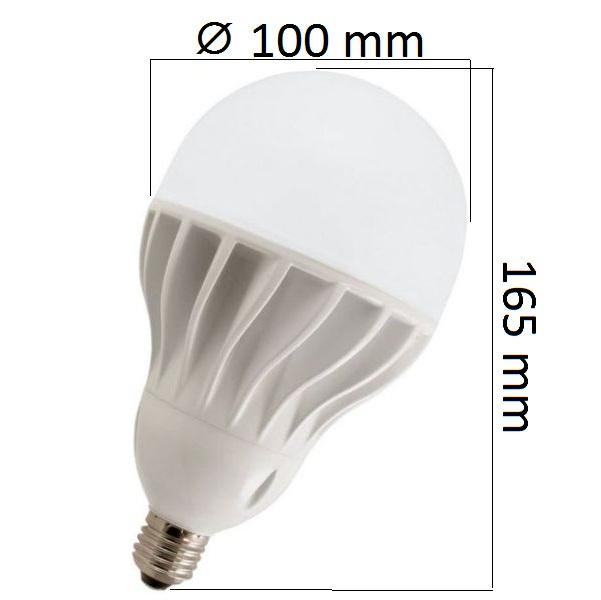 LED žárovka E27 30W 2700lm teplá,  ekvivalent 160W