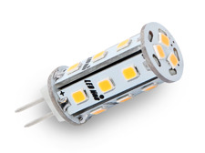 LED žárovka G4 3W 295lm 12V teplá, ekvivalent 26W