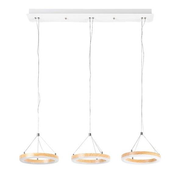 LED stropní svítidlo Audrey 3x 15W 2627
