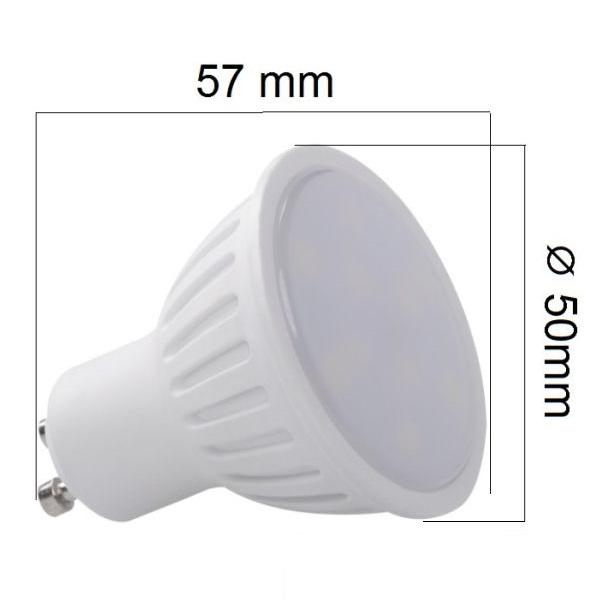 Akce: LED žárovka GU10 6W 450lm, studená 3+1