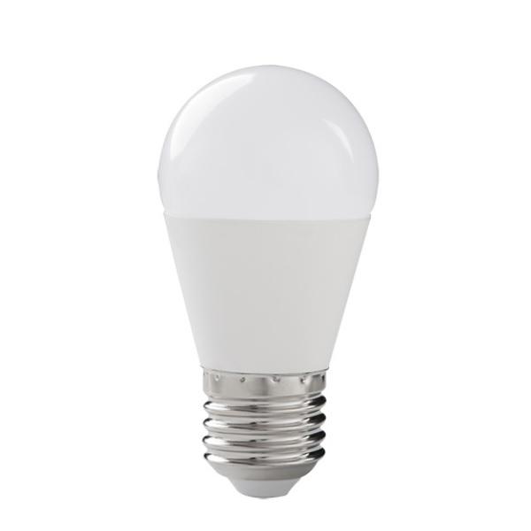 Akce: LED žárovka E27 8W 600lm G45 teplá 3+1