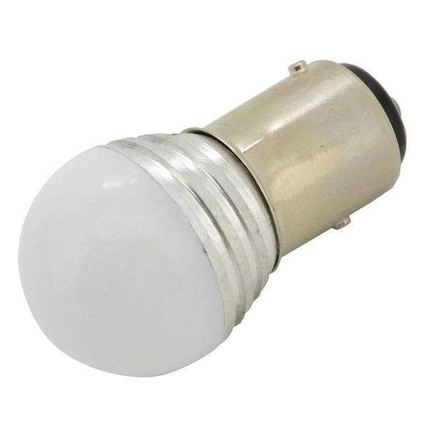 Led autožárovka 9 SMD LED 1chip 12V BaY15d CAN-BUS ready bílá 1ks