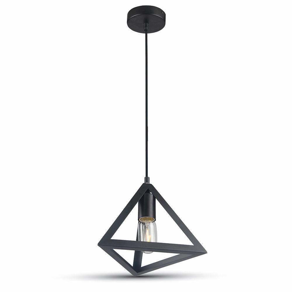 Designové svítidlo Triangolare black