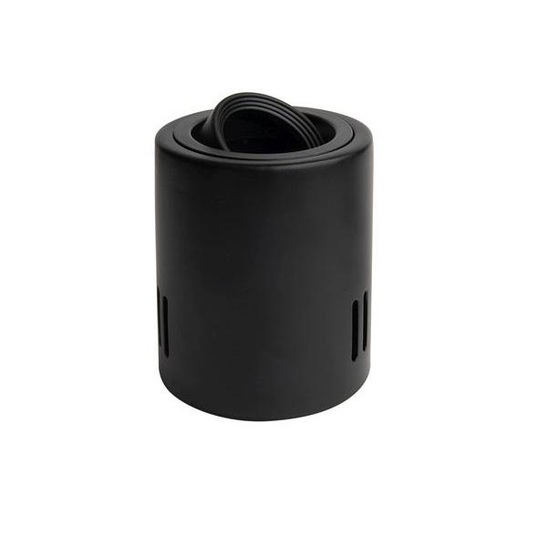 Přisazené bodovkové svítidlo výklopné černé