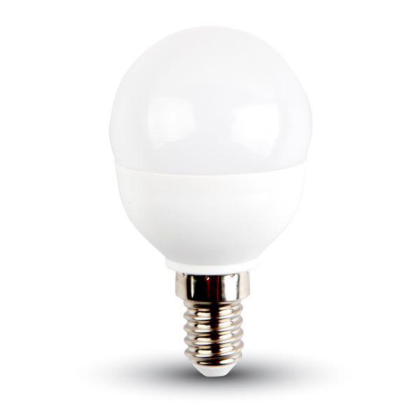 Akce: LED žárovka E14 6W 470lm G45 teplá 3+1