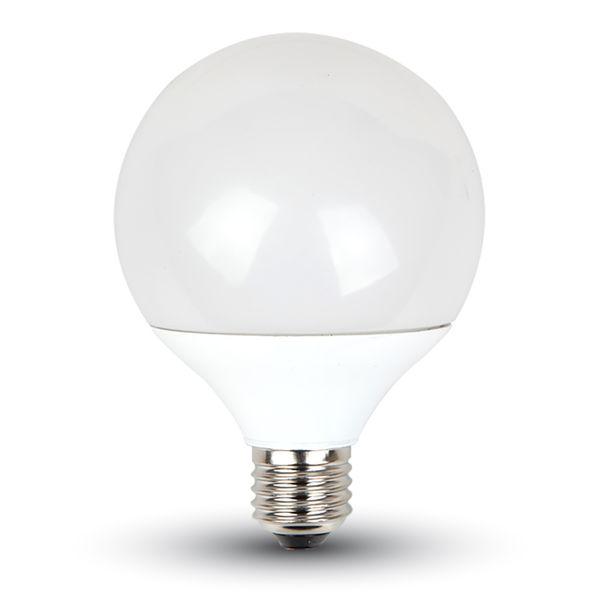 LED žárovka E27 10W 810lm G95 teplá, ekvivalent 60W
