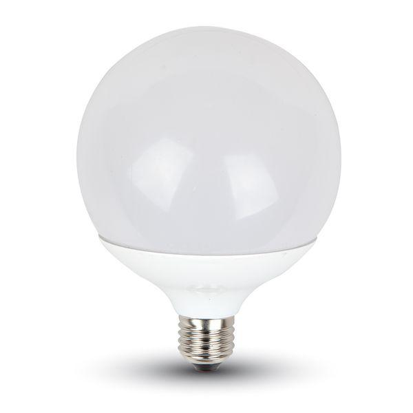 LED žárovka E27 18W 1800lm G120 denní, ekvivalent 130W