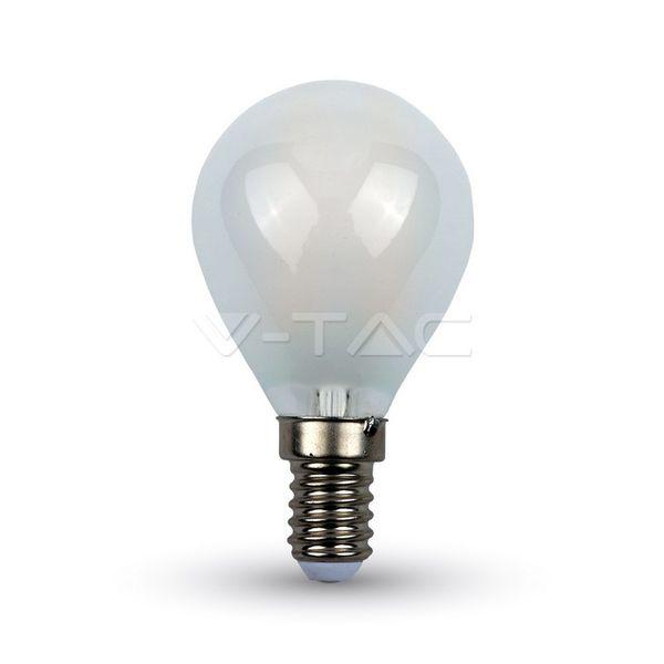 Retro LED žárovka E14 4W 400lm G45, studená, filament, ekvivalent 40W