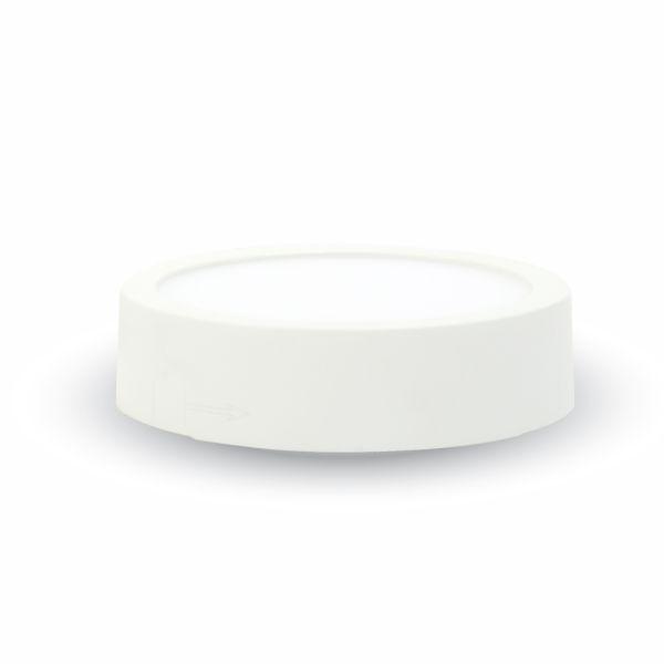 Led svítidlo přisazené 6W 420lm 9cm studené světlo, kruhové
