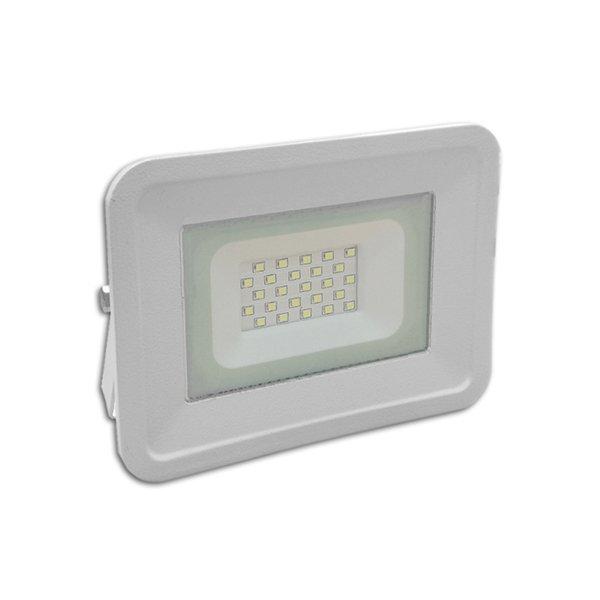 Ultratenký LED reflektor bílý   20W 1700lm, denní