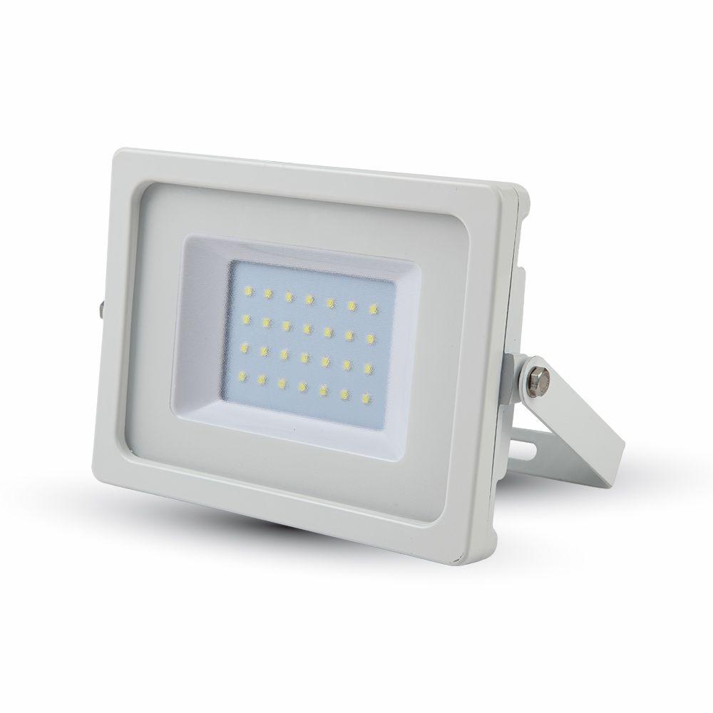 Ultratenký LED reflektor bílý 30W 2550lm denní