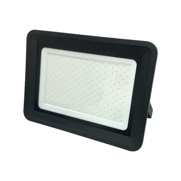 Ultratenký LED reflektor černý  150W 12750lm, denní