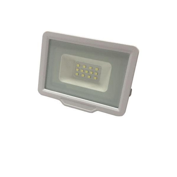 Ultratenký LED reflektor bílý  10W 800lm,  studená