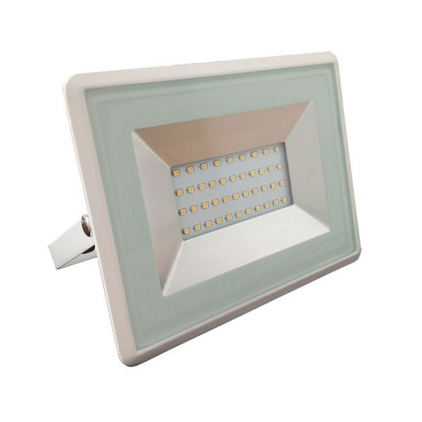 Ultratenký LED  reflektor bílý 30W 2550lm, denní