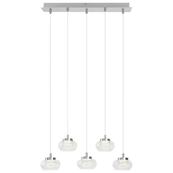 LED stropní svítidlo Karissa 5x4,8W