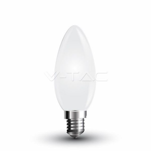Retro LED žárovka  E14 4W 350lm, studená, filament, ekvivalent 35W