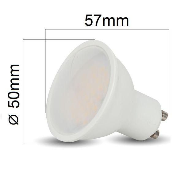 Akce: LED žárovka GU10 3W 210lm studená 3+1