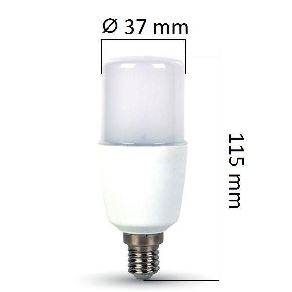 Akce: LED žárovka E14 9W 750lm teplá 3+1