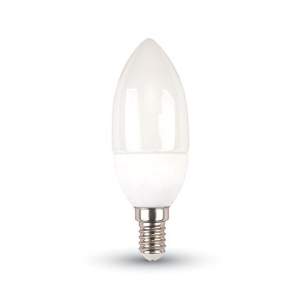 LED žárovka E14 3W 250lm studená, ekvivalent 25W