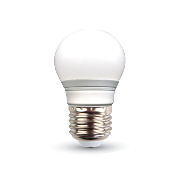 LED žárovka E27 3W 250lm G45 teplá, ekvivalent 25W