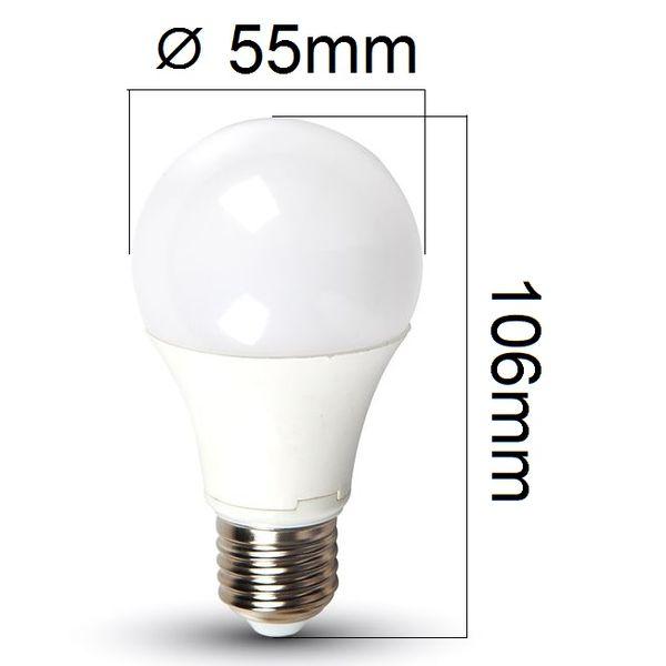 LED žárovka E27 5W 420lm, denní, ekvivalent 35W