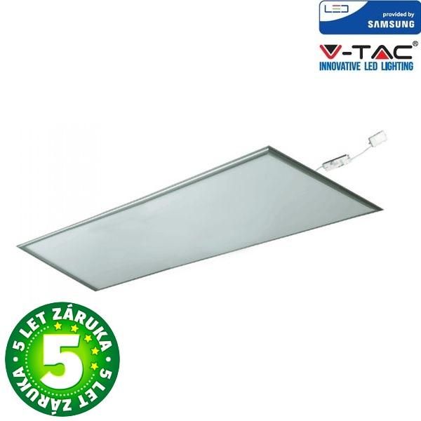 Prémiový LED panel 45W 5400lm SAMSUNG čipy 120x60cm, studené světlo