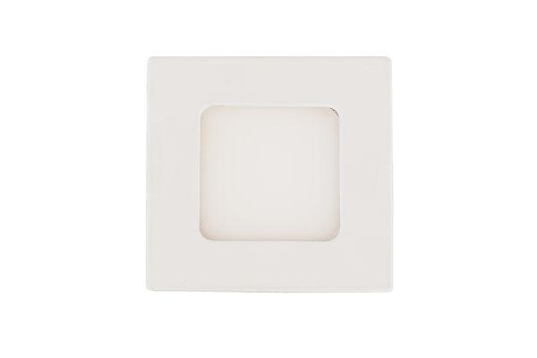 LED panel 3W 240lm 8,5x8,5cm teplé světlo, čtvercový
