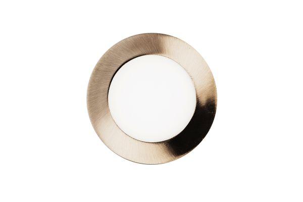 Akce: LED panel 6W 480lm 12cm tepl� sv�tlo, kruhov� 10+1