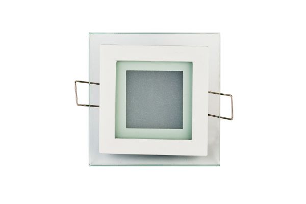 LED panel 6W 480lm 10x10cm denní světlo, čtvercový