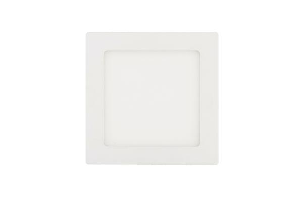 LED panel 12W 960lm 17x17cm denní světlo, čtvercový
