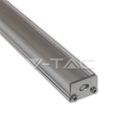 Sada: Hliníkový profil pro LED pásky 1m mléčný kryt