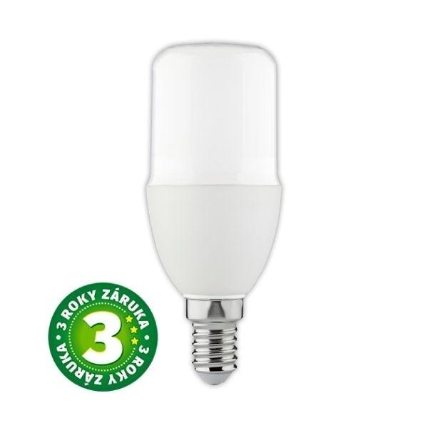 Prémiová LED žárovka E14 8W 820lm T37, denní, 3 roky