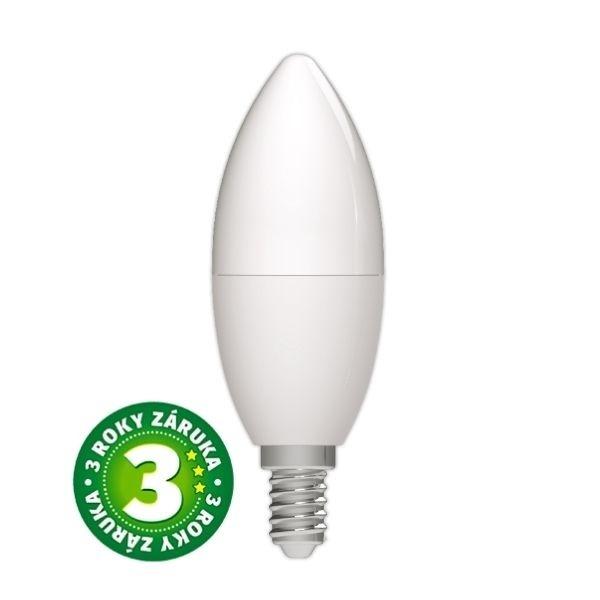 Akce: Prémiová LED žárovka E14 8W 830lm, studená, 3 roky 3+1