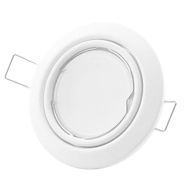 Podhledové bodové   svítidlo výklopné  bílé, včetně patice GU10